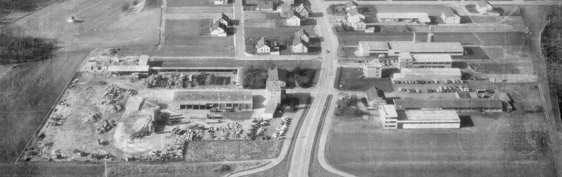 Luftbild Flammer Bauunternehmung Mössingen