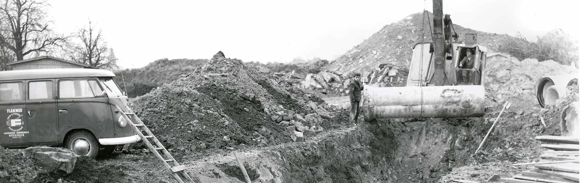 Rohrleitungsbau Flammer Historie