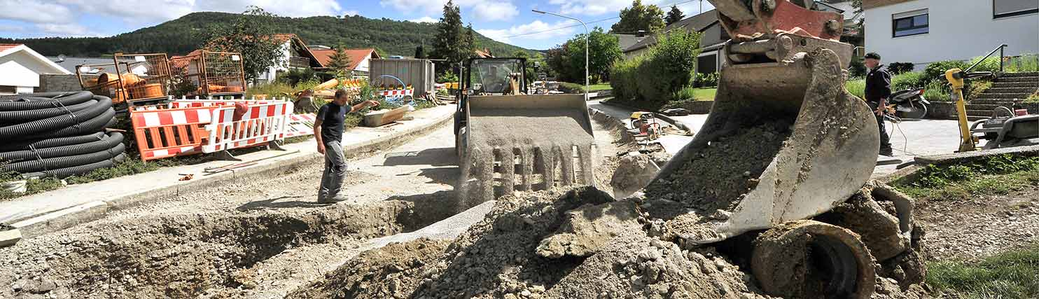 Rohrleitungsbau Kanalbau Mössingen