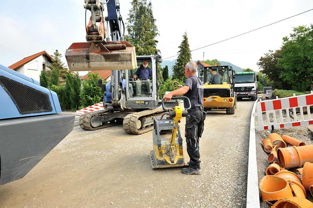Straßenbau Mössingen